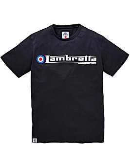 Lambretta Flag T-Shirt Long