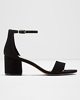 Aldo Villarosaw Block Heels Wide E Fit