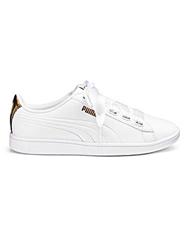 Puma Vikky Ribbon Metallic Trainers