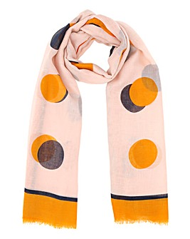 Lightweight Dot Scarf
