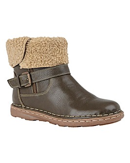 Lotus Leather Ali Boots E Fit