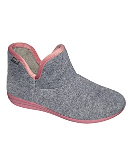 Scholl Creamy Bootie Slipper D Fit