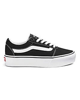 Vans Ward Platform Womens Trainers