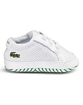 Lacoste L.12.12 Crib Shoes