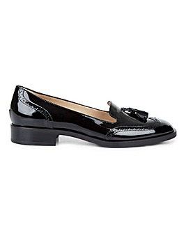 Hobbs Bryony Leather Loafer Shoes
