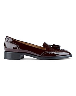Hobbs Bryony Loafer Shoes Standard D Fit