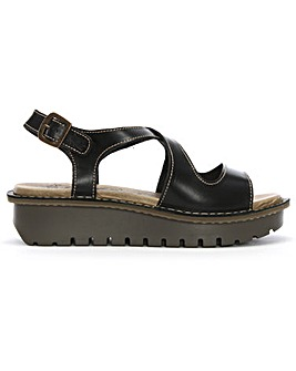 Fly London Kimb Cut Away Chunky Sandals