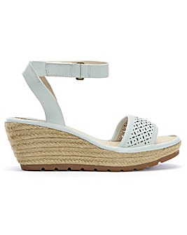 Fly London Ekal Wedge Espadrille Sandals