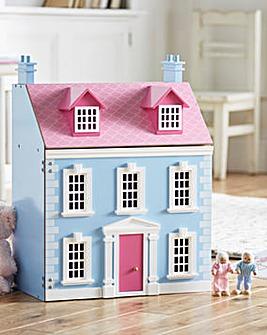 Wooden Georgian Dolls House