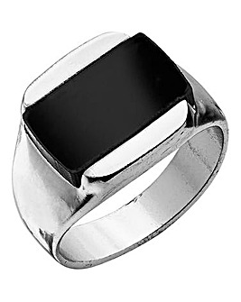 Jacamo Black Stone Ring