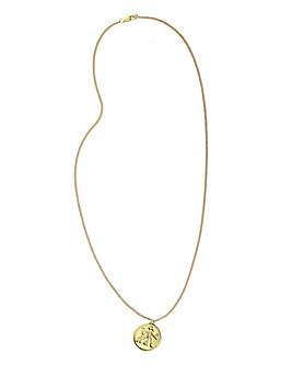 Jacamo Coin Pendant Necklace