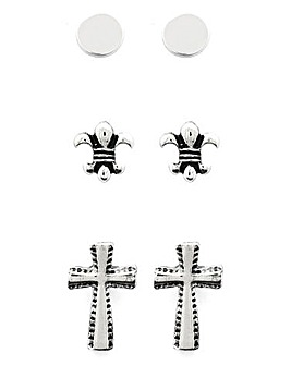 Jacamo Cross Earring Multi-Pack
