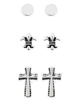 Jacamo Cross Earring Multi-Pack