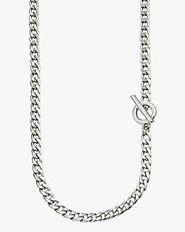 Jacamo Silver-tone T-bar Chain