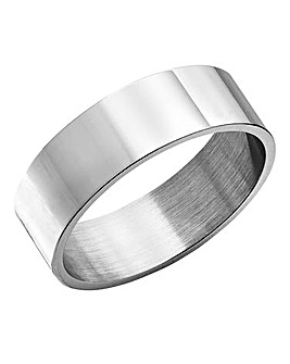 Jacamo Brushed Silver-tone Ring