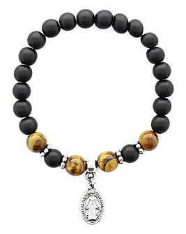 Jacamo Beaded Charm Bracelet