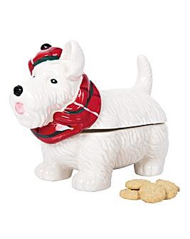 Scottie Dog Biscuit Jar