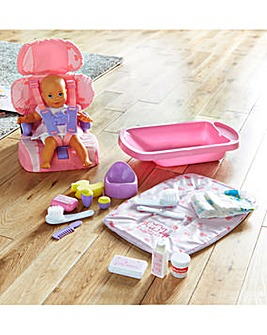 Bath and Potty Changing Mat Set