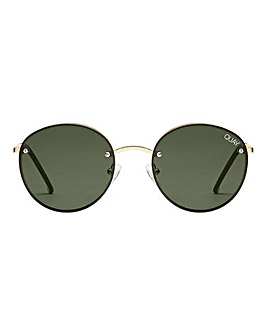 Quay Australia Farrah Gold Sunglasses