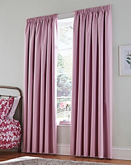 Faux Silk Blackout Thermal Curtains