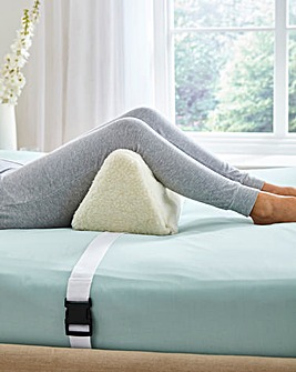 Fleecy Supportive Foot and Knee Rest