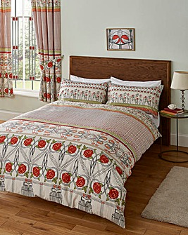 Charles Rennie Mackintosh Duvet Set