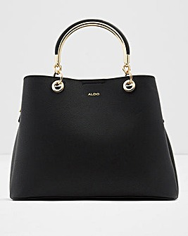 Aldo Suroine Black Handle Tote Bag