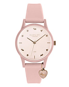 Radley Ladies Rose Gold Silicon Watch