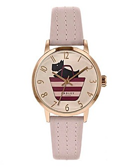 Radley Ladies Pink Boarder Watch