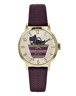 Radley Ladies Purple Boarder Watch