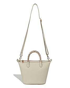 Oasis Ella Snake Handle Crossbody Bag