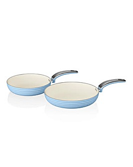 Swan Non Stick Frying Pans Set of 2