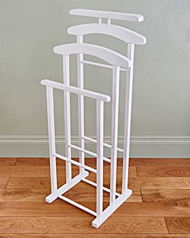 Double Valet Stand with Tray
