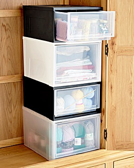 Mix and Match Stackable Drawer Modules