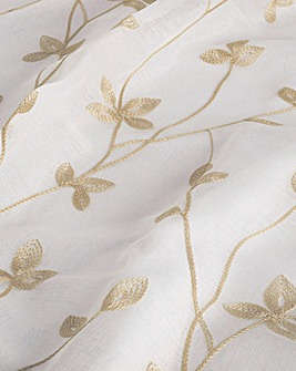 Willow Lined Embroidered Voiles