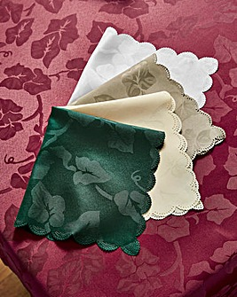 Ivy Leaf Napkins Pack of 4