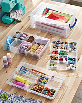 31 Compartment Craft Storage Caddy