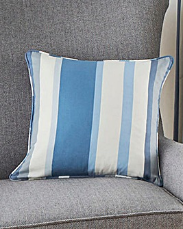 Classic Stripe Printed Cushion Cover