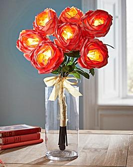 Illuminated Rose Bouquet
