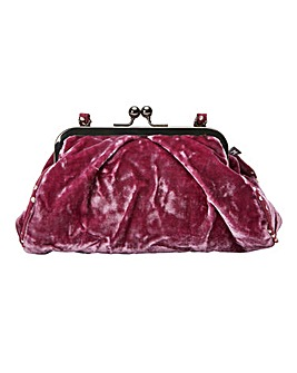 Joe Brown Silk Velvet Vintage Style Bag