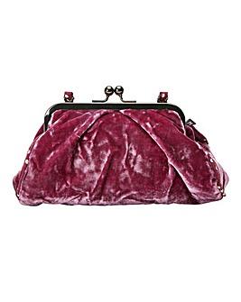 Silk Velvet Vintage Style Bag