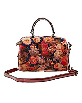 Joe Brown Work of Art Velvet Bag