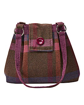 Joe Brown Autumn Forest Tweedy Bag