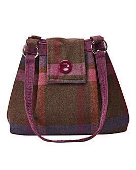 Autumn Forest Tweedy Bag