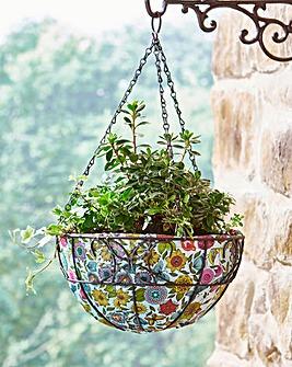 Floral Hanging Basket Liners Set of 3