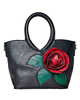 Joe Brown Bold and Beautiful Flower Bag