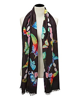 Joe Brown Midnight Flutters Scarf