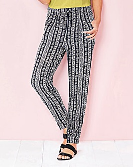 Printed Trousers 29