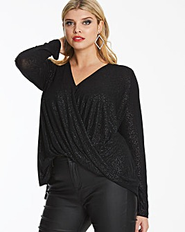 Vero Moda Curve Wrap Mandy Top