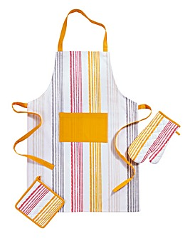 Sunburst Apron Glove Pot Holder